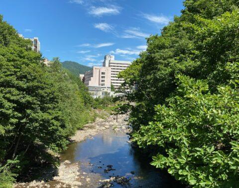 支笏湖ドライブ&水遊